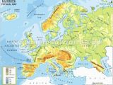 Labeled Physical Map Of Europe 29 Definite Physical Map Test