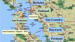 Lafayette California Map Map San Francisco Bay area California Valid Map California Map