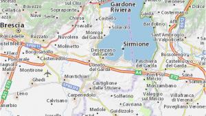 Lake Garda Italy Map Google Desenzano Del Garda Map Detailed Maps for the City Of Desenzano Del