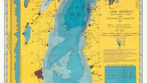 Lake Michigan Contour Map 1900s Lake Michigan U S A Maps Of Yesterday In 2019 Pinterest