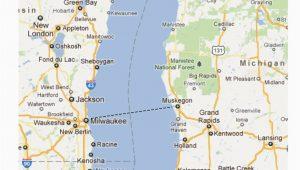 Lake Michigan Ferry Routes Map 26 Lastest Map Michigan Lakes Bnhspine Com