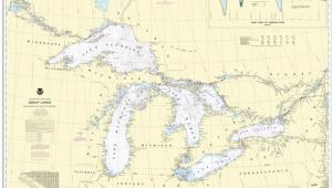 Lake Michigan Nautical Map Us Charts Great Lakes Captain S Supplies