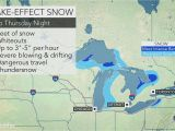 Lake Michigan Wind Map Prolonged Lake Effect Snow event to Bury Eastern Great Lakes with