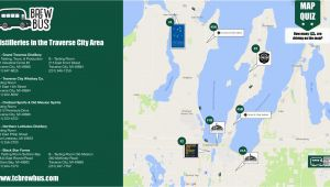 Lake Michigan Wine Trail Map tour the Distilleries In Traverse City Tc Brew Bus