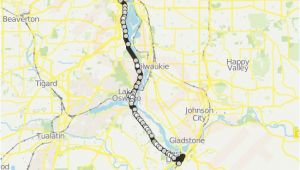 Lake Oswego oregon Map 35 Route Time Schedules Stops Maps Portland