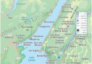 Lake Region Italy Map Map with All the towns On Lake Maggiore You Can See that the Lake