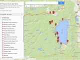 Lake Tahoe On Map Of California 30 Things to Do In Lake Tahoe