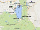Lake Tahoe On Map Of California Guide to Planning A Lake Tahoe California Vacation