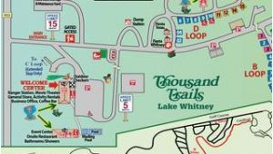 Lake Whitney Texas Map Thousand Trails Lake Whitney by Ags Texas Advertising issuu