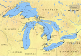 Lakes In Michigan Map Great Lakes Almost Frozen Over This Year Teaching Kids News