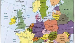 Land Map Of Europe Map Of Europe Maps Kontinente Europe Reisen Und Europa