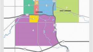 Lansing Michigan Zip Code Map Awesome Map Of Lansing Mi Pictures Printable Map New