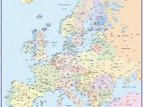 Large Scale Map Of Europe Europe without Borders Accurate Maps