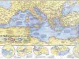 Large Wall Map Of Europe National Geographic Historical Maps Europe Wall Maps Maps