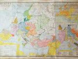Large Wall Map Of Europe Old Very Big Map 69 X 46 175 Cm X 117 Cm Historical Map Of the World Old Wall Chart Big School Map Didactic Map Religious Territories