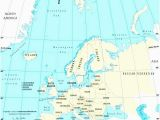 Latitude and Longitude Map Of Europe Map Europe Major Cities Pergoladach Co