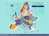 Learn Map Of Europe World Map the Literal Translation Of Country Names
