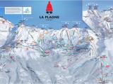 Les Arcs France Map Maps Piste Maps Of La Plagne France Laplagnet Com