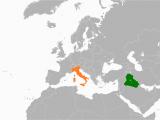 Libya to Italy Map Iraq Italy Relations Wikipedia