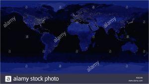 Light Pollution Map Texas Light Pollution Earth Stock Photos Light Pollution Earth Stock