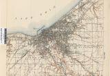 Lima Ohio Google Maps Ohio Historical topographic Maps Perry Castaa Eda Map Collection