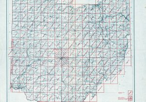 Lima Ohio Maps Ohio Historical topographic Maps Perry Castaa Eda Map Collection