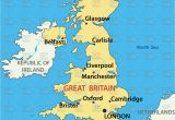 Liverpool On the Map Of England Map Of the United Kingdom Stock Vector Image