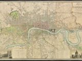 London England On A World Map Fascinating 1830 Map Shows How Vast Swathes Of the Capital