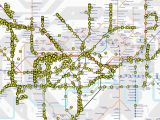London England Underground Map Tube Map that Shows London Underground Trains Moving In Real Time