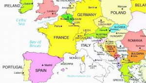 London In Europe Map 36 Intelligible Blank Map Of Europe and Mediterranean