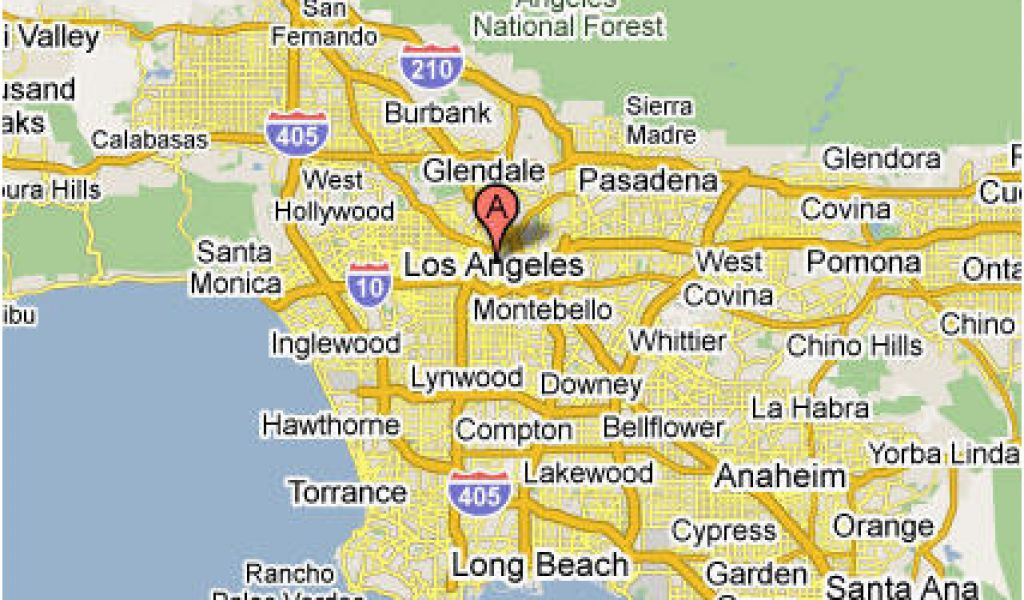 Sothern California Map La Habra Ca.Los Angeles California Zip Code Map Orange County Ca Zip Code Map