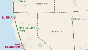 Lost Coast California Map the Classic Pacific Coast Highway Road Trip Road Trip Usa