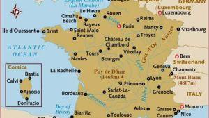 Lyon France Map tourist Map Of France