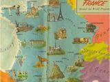 Lyon France On Map Carte De La France Vive La France France Map Map France