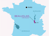 Lyon France On Map the Secret to Finding Good Beaujolais Wine Veni Vino Vici