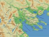 Macedonia On Europe Map Map Of the Ancient Greek Kingdom Of Macedonia with