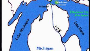 Mackinac island Michigan Map Getting to Mackinac island is as Easy as 1 2 3