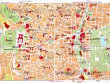 Madrid Spain Map tourist Map Of Madrid attractions Planetware S P A I N In 2019 Madrid