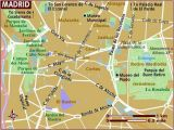 Madrid Spain Map tourist Map Of Madrid