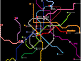 Madrid Spain Metro Map Madrid Metro Wikipedia