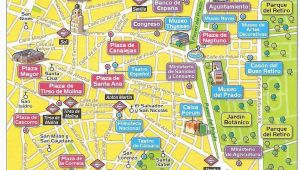 Madrid Spain On A Map Mapa El Centro De Madrid Classroom Spanish Classroom Spanish