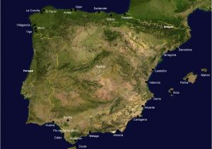 Mahaka Spain Map List Of Ports In Spain Wikipedia