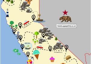 Major Airports In California Map International Airports In