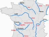 Major Rivers In France Map List Of Rivers Of France Wikipedia
