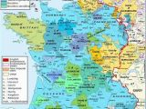 Map Angouleme France Burgundian Territories Scotland France Map Map