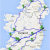 Map athlone Ireland the Ultimate Irish Road Trip Guide How to See Ireland In 12 Days