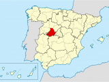 Map Avila Spain Bistum A Vila Wikipedia