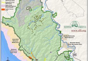 Map Brookings oregon Bear Valley California Map Secretmuseum