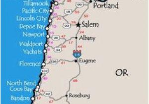 Map Brookings oregon Newport oregon Map Secretmuseum