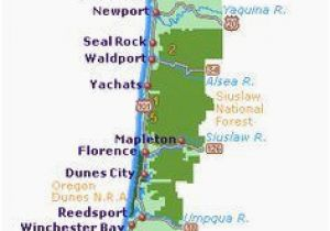 Map Brookings oregon oregon Coastal Map Secretmuseum